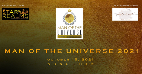 Man of the universe banner